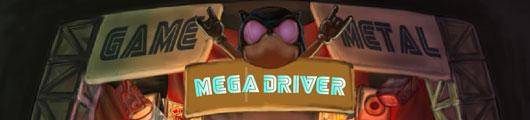 MEGA DRIVER - Homenagem ao antigo console 16bits!
