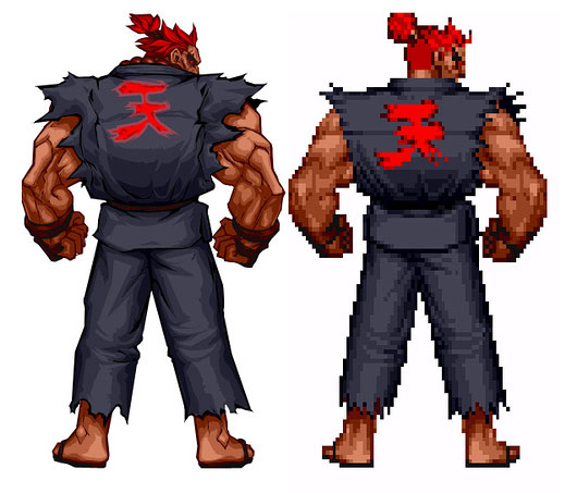 RETROBITS - Remakes - Akuma no Street Fighter 2 HD Turbo Remix - www.retrobits.com.br