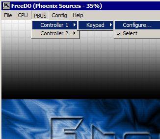 Emulando 3DO - Configurando o controle no teclado: Passo 1