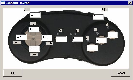Emulando 3DO - Configurando o controle no teclado: Passo 2