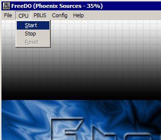 Emulando 3DO - Testando a BIOS: Passo 1
