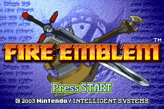 Fire Emblem - Opening