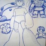 Megaman by adistantplace