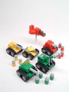 Advance Wars Lego