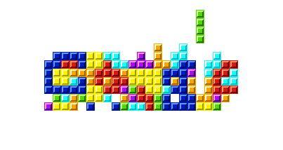 Google - Tetris - www.retrobits.com.br