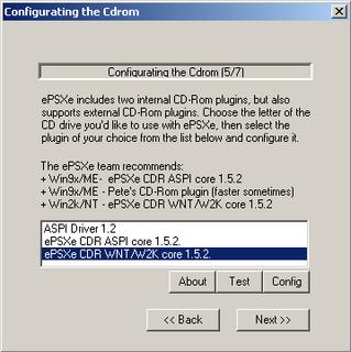 ePSXe CDR WNT/W2K core 1.5.2
